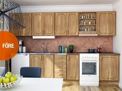 Före smart köksrenovering